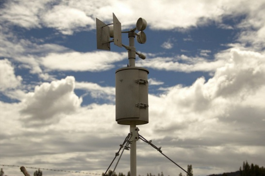 Enlargement: Weather station in Peru