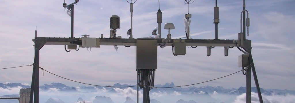 Weather station on Säntis