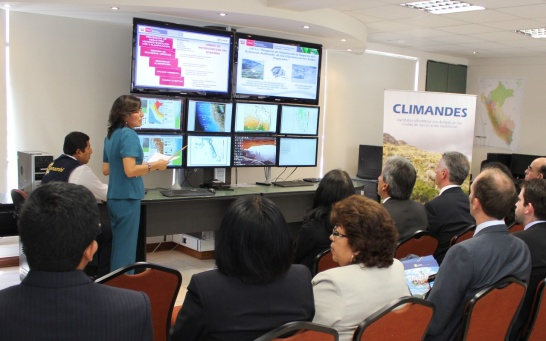 Enlargement: The Climandes project is presented to policy makers