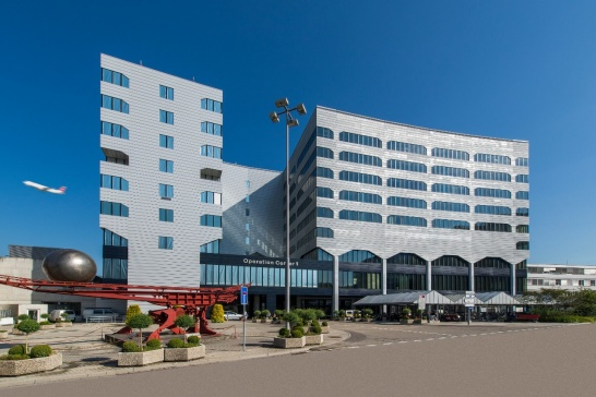 Enlargement: New MeteoSwiss headquarters at Operation Centre 1, Zurich airport.